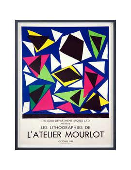 Henri Matisse   Les Lithographies De L'atelier Mourlot Framed Print, 75 X 60cm by John Lewis