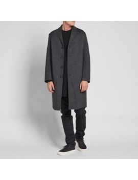 Acne Studios Charlie Coat Cashmere Charcoal Grey Size 52  Brand New With Tags by Acne Studios