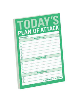 Knock Knock Plan Of Attack Stickies, Multi by Knock Knock