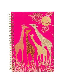 Sara Miller A5 Notebook, Pink by Sara Miller