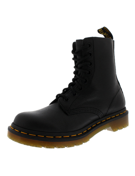 Womens Dr Martens Pascal Virginia Leather Smooth Retro Punk Calf Boots Us 5 11 by Dr Martens