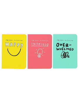 Happy News Mini Journals, Set Of 3 by Happy News