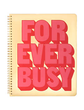 Ban.Do Forever Busy Notebook by Ban.Do