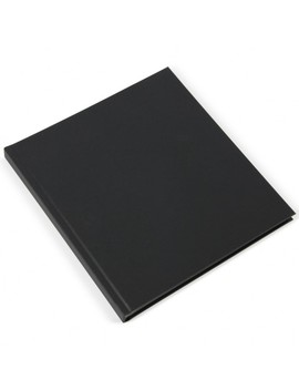 Black Kraft Square Self Adhesive Photo Album by Paperchase