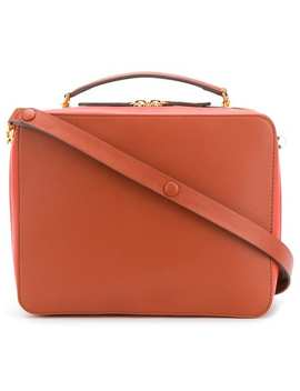 Anya Hindmarch The Stack Double Satchelhome Women Anya Hindmarch Bags Messenger & Crossbody Bags by Anya Hindmarch