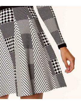 Mini Check Knit Dress by Kd094 Kd046 Kd154 Kd091 Kd061 Kd030 Kd062 Zd535