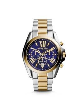 Michael Kors Women's Bradshaw Chronograph Blue Dial Two by Michael Kors