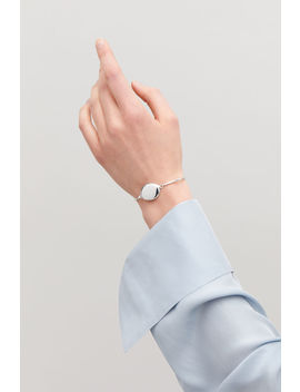 Metal Bangle With Opening by Cos