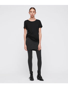 Raffi Rib Pencil Leggings by Allsaints