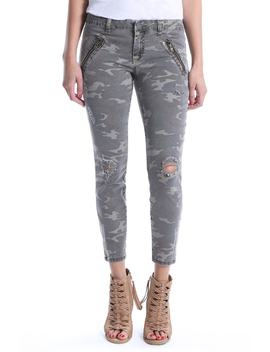 Connie Ankle Skinny Camo Jeans by Kut From The Kloth
