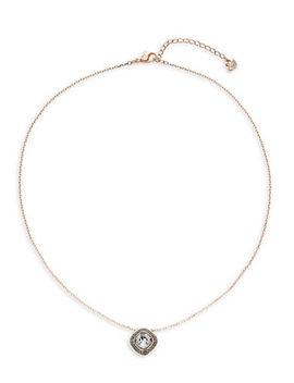 Lattitude Pendant Necklace by Swarovski