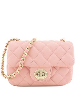 Mini Classic Quilted Chain Shoulder Bag by Alyssa