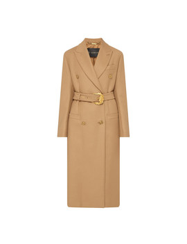 Double Breasted Trench Coat by Versace