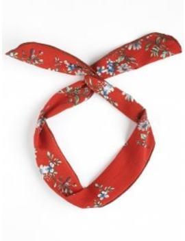 Vintage Flower Print Headband   Jacinth by Zaful