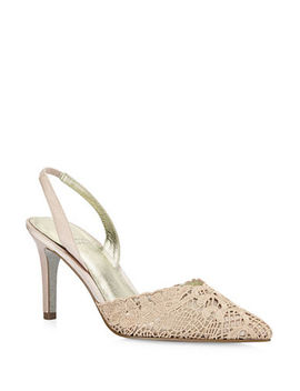Hallie Lace Slingback Pumps by Adrianna Papell
