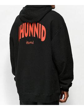 4 Hunnid Arch Black Hoodie by 4 Hunnid