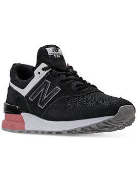 Men's 574 Sport Casual Sneakers From Finish Line by New Balance