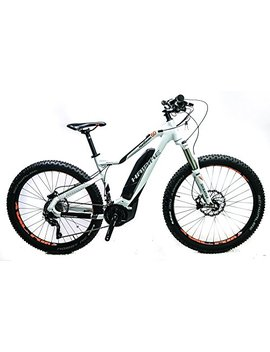 Haibike 2017 Sduro Hard Seven 6.0 E Mtb Hard Tail Electric Bike White by Hai Bike