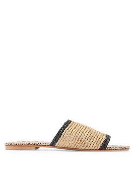 Fresh Woven Slide by Topshop