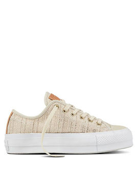 Chuck Taylor All Star Lift Herringbone Mesh Sneakers by Converse