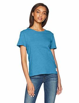 Calvin Klein Women's Logo Slub T Shirt by Calvin+Klein