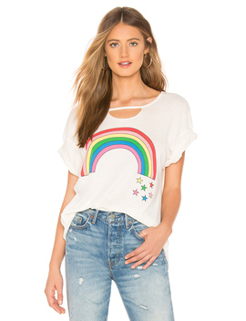 Rainbow Stars Rivo Tee by Wildfox Couture