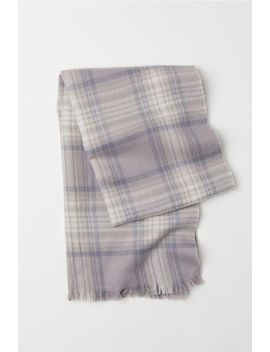 Checked Scarf by H&M