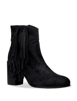 Tassels Leather Booties by Liebeskind