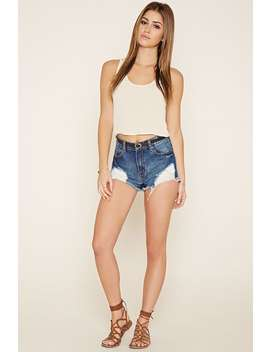 Crochet Paneled Top by Forever 21