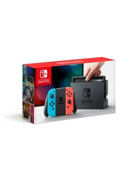 Nintendo® Switch™ With Neon Blue And Neon Red Joy Con™ by Shop All Nintendo