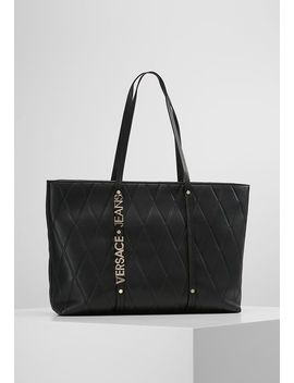 Quilted Shopper Big   Tote Bag by Versace Jeans
