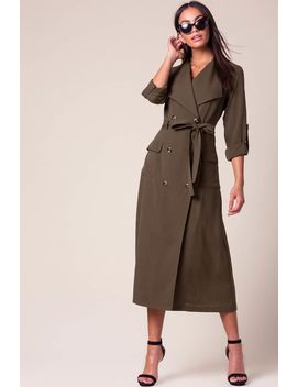 Jody Belted Trench by A'gaci