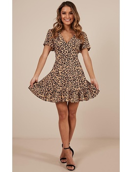 Do You Remember Me Dress In Leopard Print by Showpo Fashion