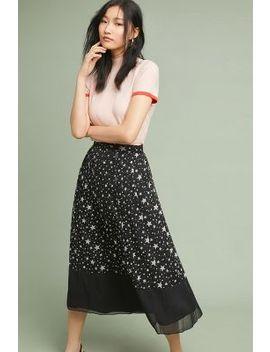 Celestial Midi Skirt by Ranna Gill