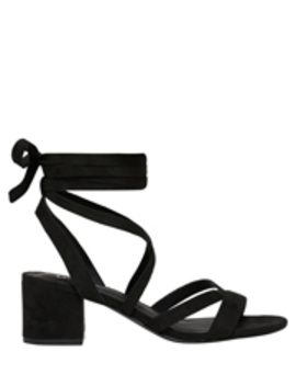 Maxine Black Sandal by Lipstik