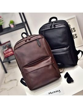 Vintage Men Women Leather Backpack Travel Satchel Rucksack Shoulder School Bag by Unbranded/Generic