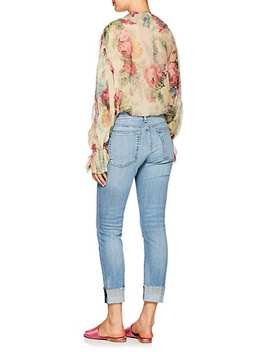 Jaya Floral Silk Blouse by Zimmermann