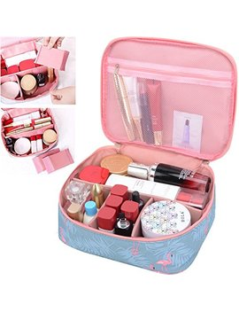 Mkpcw Portable Travel Makeup Cosmetic Bags Organizer Multifunction Case For Women (Color1) by Mkpcw