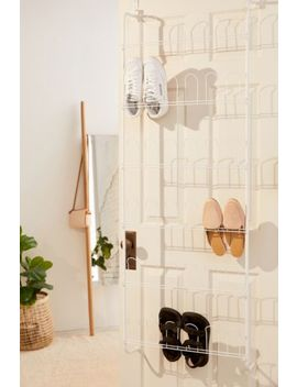 Metal Over The Door Shoe Rack by Urban Outfitters