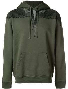 Hooded Sweatshirt by Marcelo Burlon County Of Milan