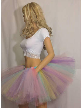 Adult Or Child Unicorn Rainbow Tutu by B Bs Boutique Shop