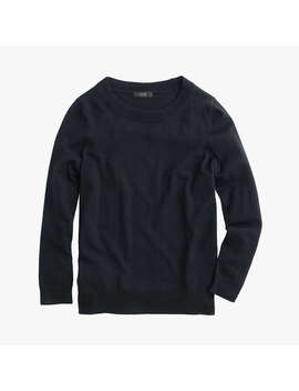 J.Crew Tippi Merino Wool Jumper, Black by J.Crew