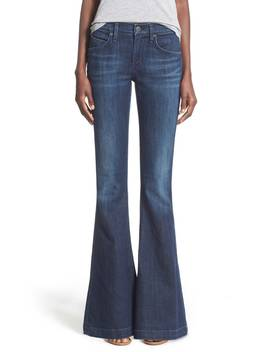 A Gold E 'madison' Flare Jeans by Agolde