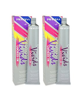 Pravana Chroma Silk Vivids (Locked In Teal), 3 Fl 0z   2 Pack by Pravana