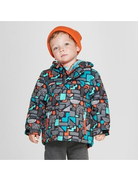 Toddler Boys' Geometric 3 In 1 Jacket   Cat & Jack™ Black by Shop All Cat & Jack™