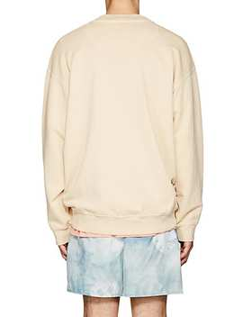 Fayte Wash Cotton Oversized Sweatshirt by Acne Studios