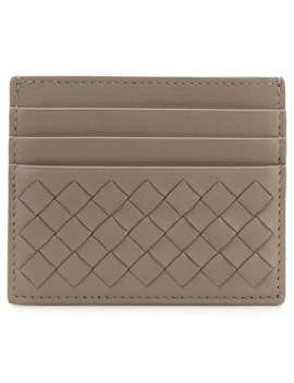 Woven Card Holder by Bottega Veneta