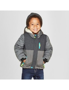 Toddler Boys' Space Multi Parka   Cat & Jack™ Gray by Shop All Cat & Jack™