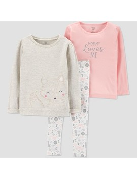 Toddler Girls' Fox 3pc Set   Just One You® Made By Carter's Gray by Shop All Just One You Made By Carter's