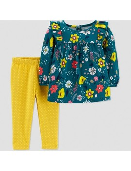 Toddler Girls' 2pc Floral Set   Just One You® Made By Carter's Green by Shop All Just One You Made By Carter's